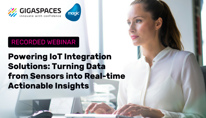 Powering IoT Integration Solutions: Turning Data from Sensors into Real-time Actionable Insights