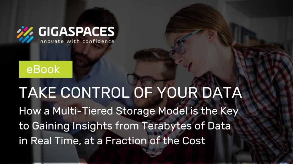 GigaSpaces Multi-Tiered Storage Model eBook