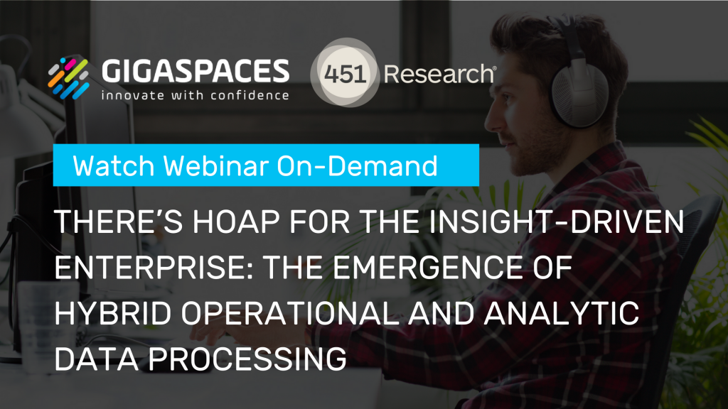 Watch HOAP Webinar with 451 Research Group
