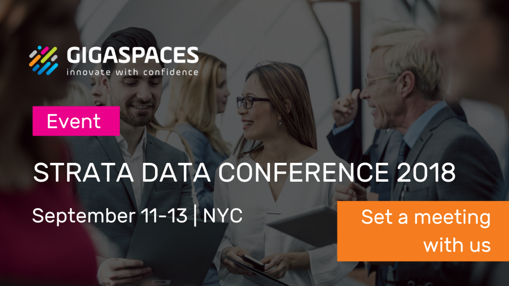 GigaSpaces to attend Strata Data Conference NYC 2018
