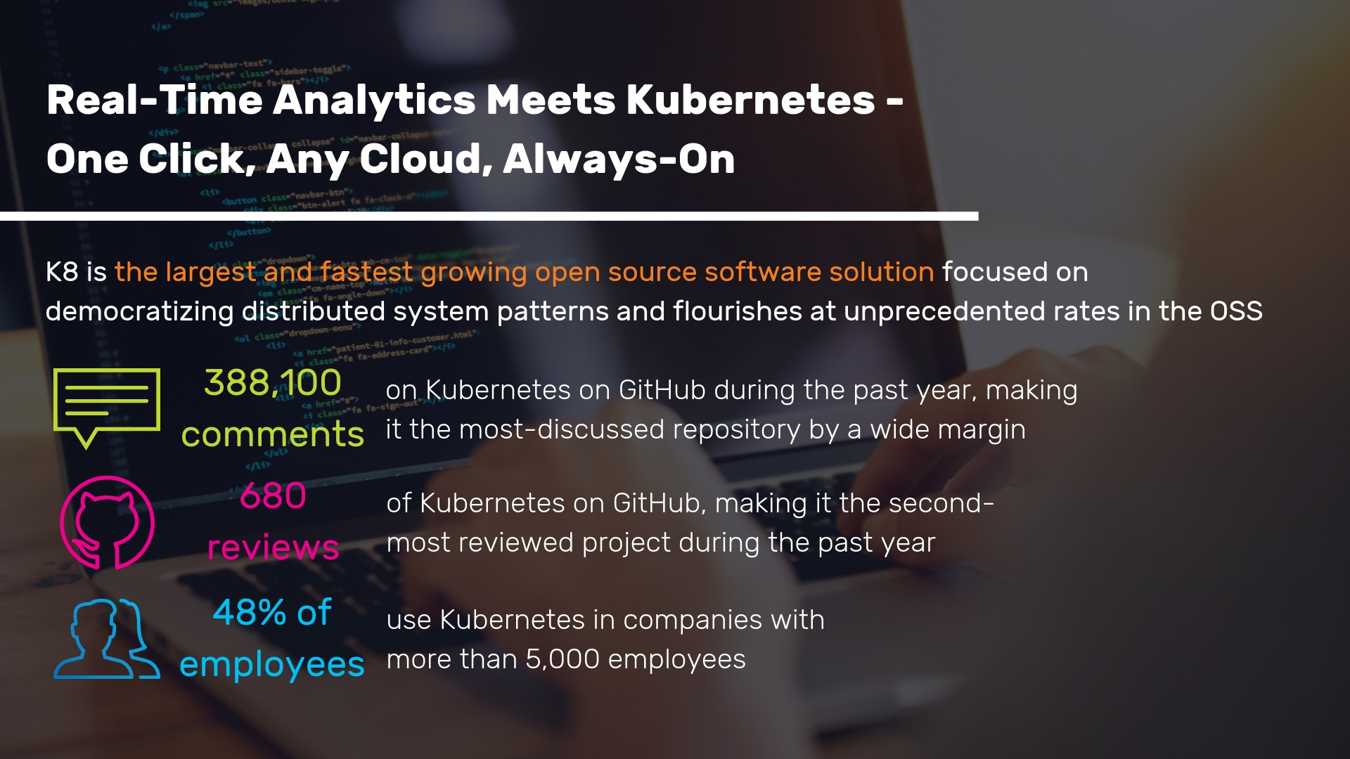 Real-Time Analytics Meets Kubernetes - One Click, Any Cloud