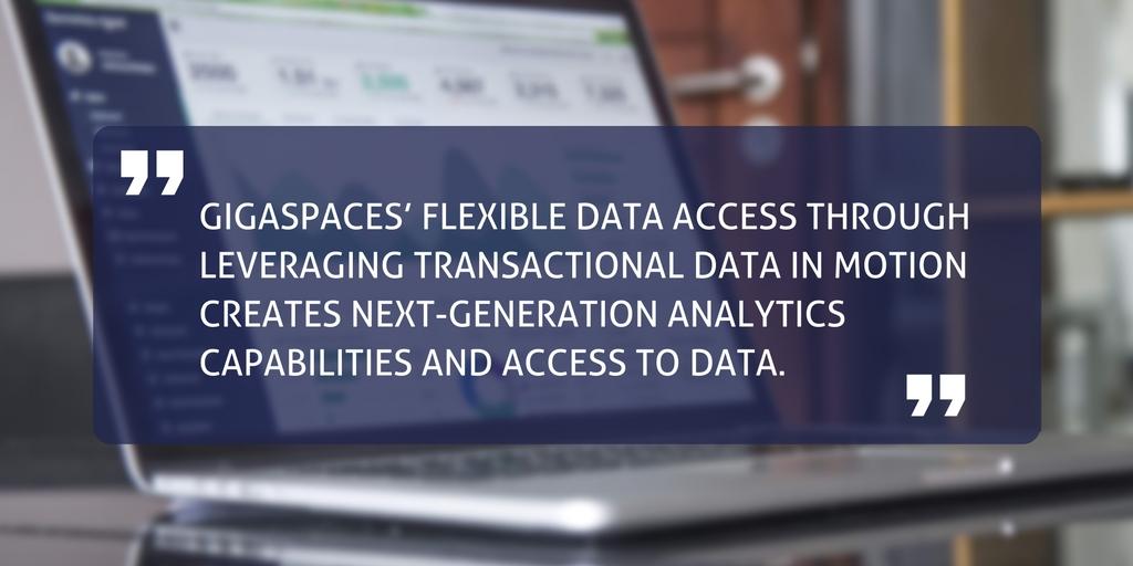 EMA report GigaSpaces