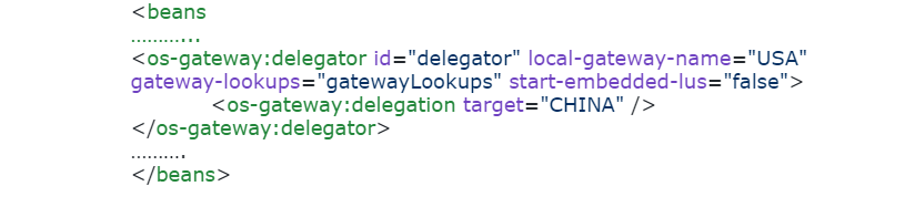 pu.xml WAN Gateway USA side snippet (Delegator):
