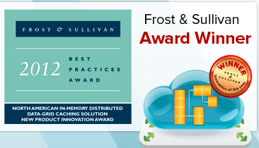 Frost and Sullivan best practices award for in-memory data grid caching technology