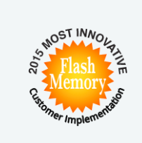 Most innovative flash memory customer implementation award