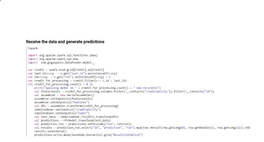 InsightEdge predictions