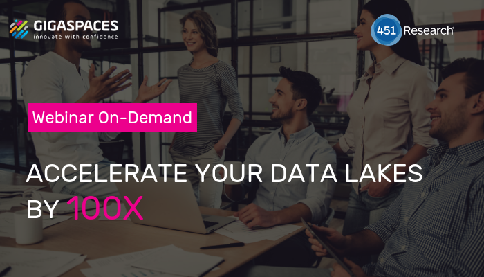 ACCELERATE YOUR DATA LAKES BY 100x